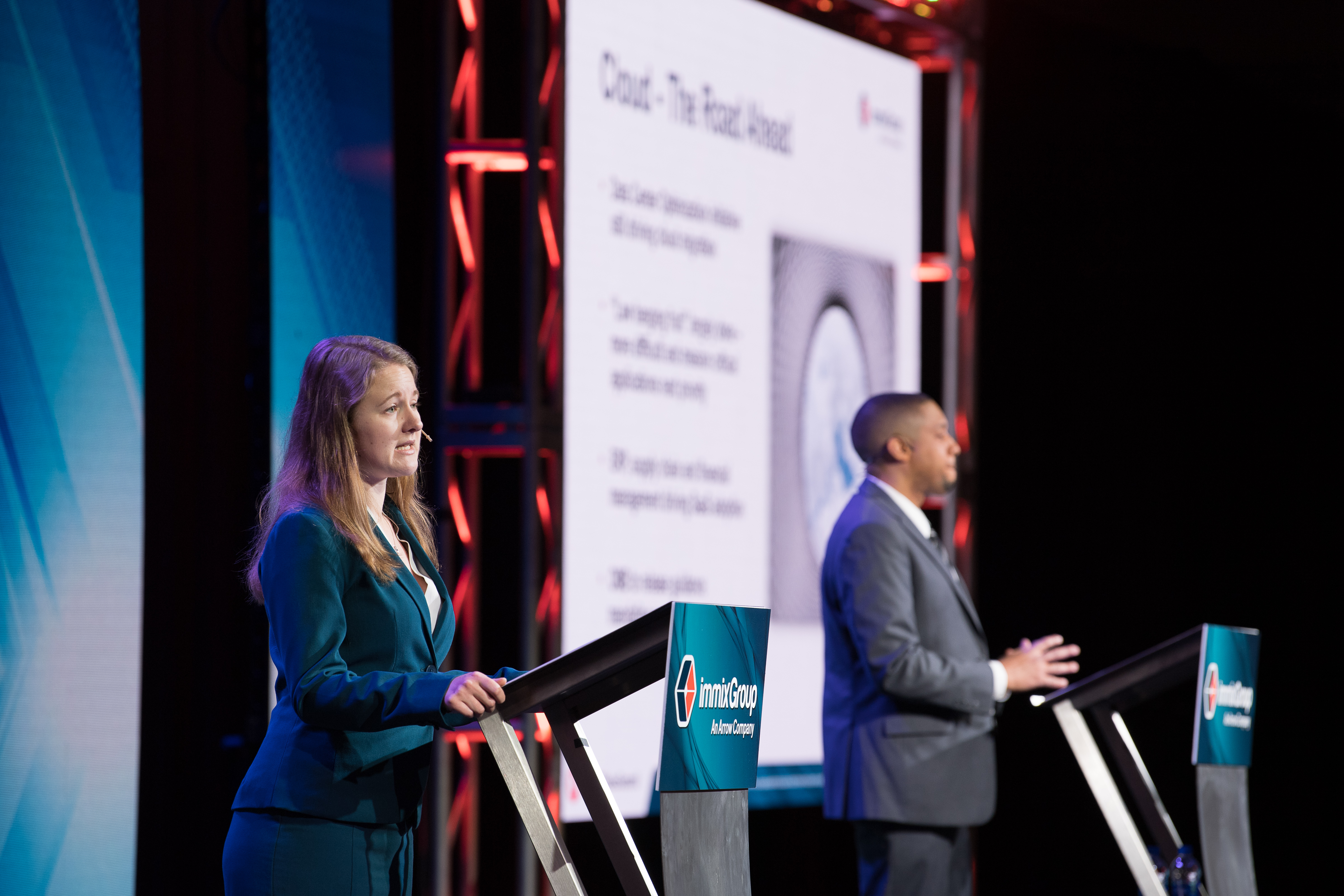 Government IT Sales Summit 2019 - Lloyd McCoy and Jessica Parks