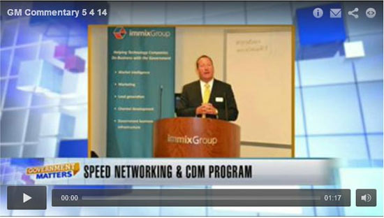Contract Vehicles - CDM Speed Networking & CDM Program Video Image